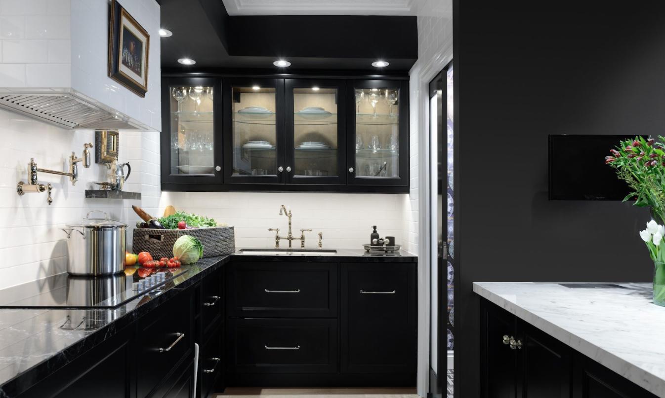 Cocinas elegantes: tonalidades oscuras-MADO